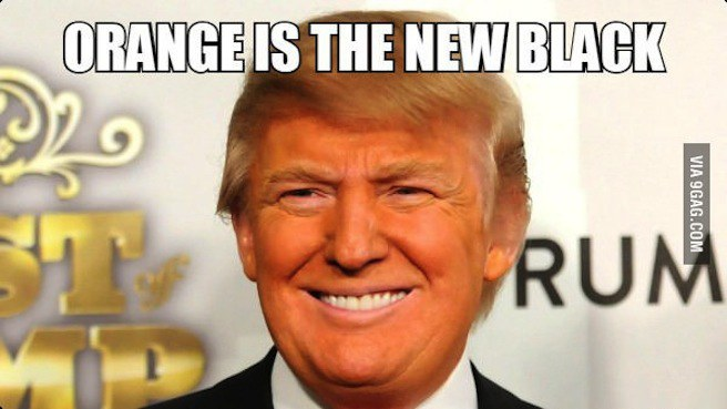orange is the new black 10 donald trump memes to get you in the voting mood likesharetweet,Orange Is The New Black Meme Trump