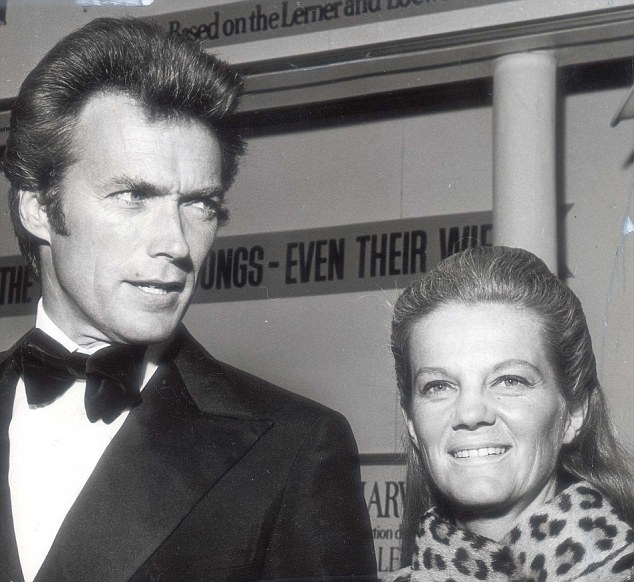 "PKT4690-345313 CLINT EASTWOOD ACTOR 1987 Clint Eastwood and his wife. OPS Clint and Maggie Eastwood. One of Hollywood's leading ""Western"" actors, he gained his reputation in a series of Italian westerns - ""For a few dollars more"", ""Fistfull of dollars"", and ""The good, the bad, and the Ugly"", Most recently he has made ""Paint your Wagon""."