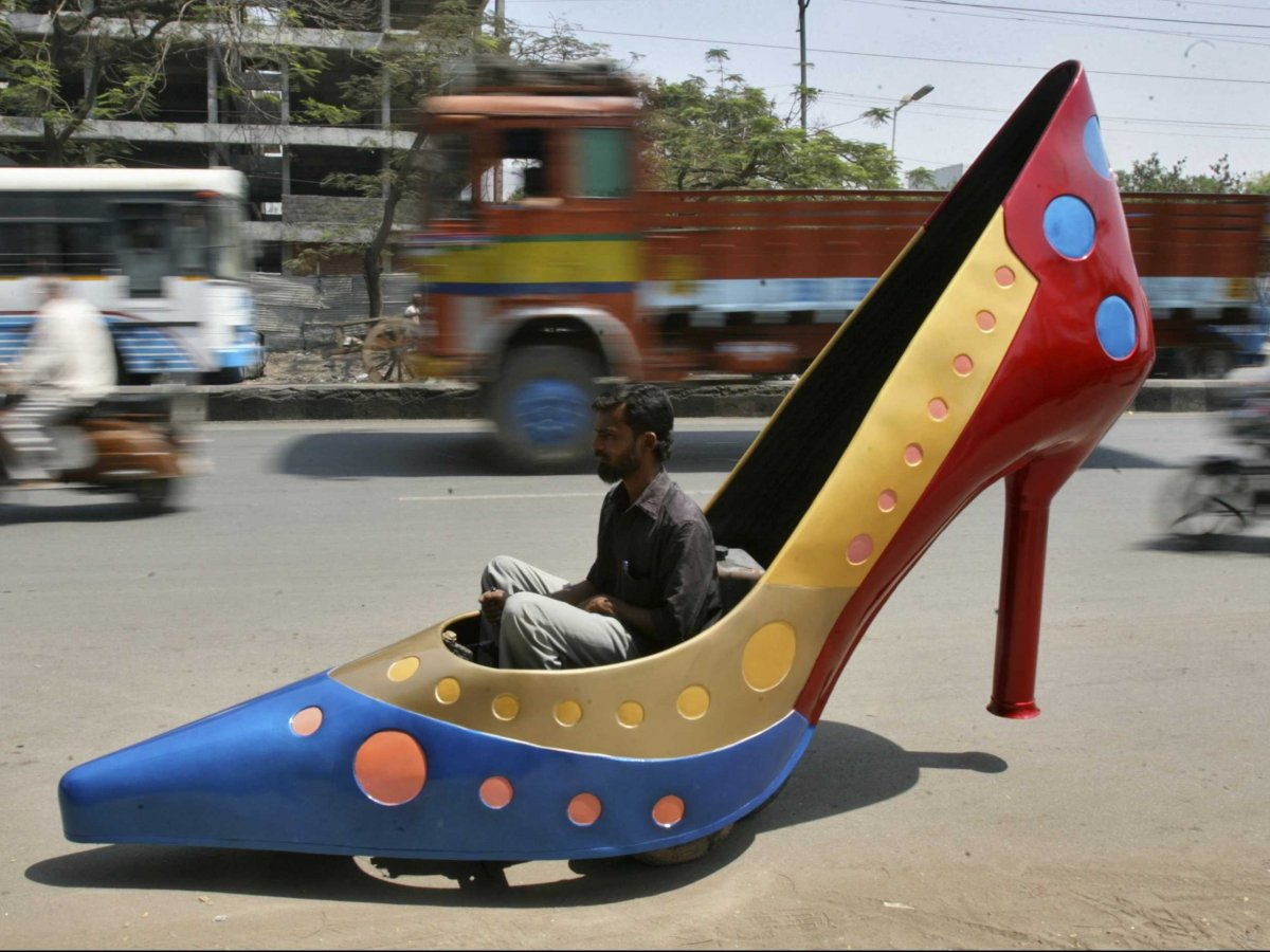 Car Shoe: You Won't Believe These 16 Crazy Vehicles Are Allowed On