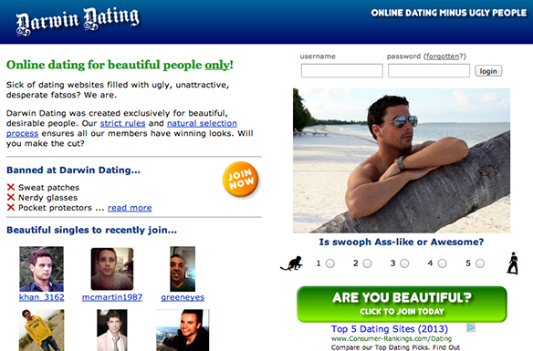 Online dating for ugly people