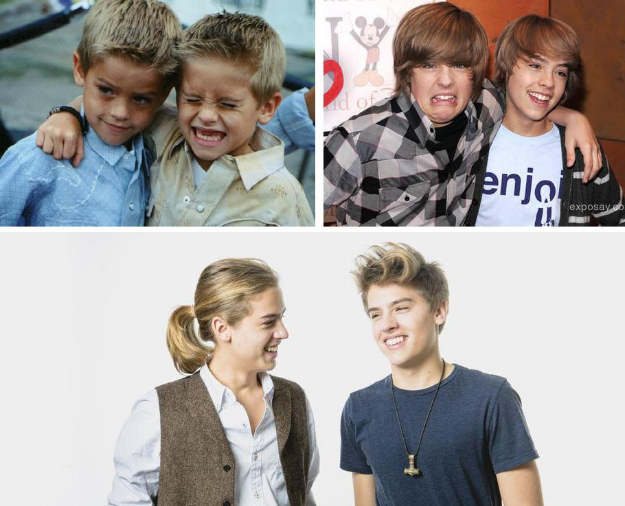 The Suite Life's Sprouse Twins Graduated From College, and ... |Cole And Dylan Sprouse Then And Now